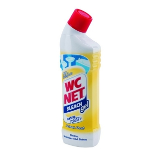 WC Net Bleach dezinfekční gel s vůni citronů 750ml