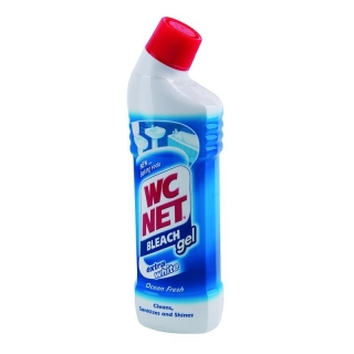 WC Net Bleach dezinfekční gel s vůni moře 750ml